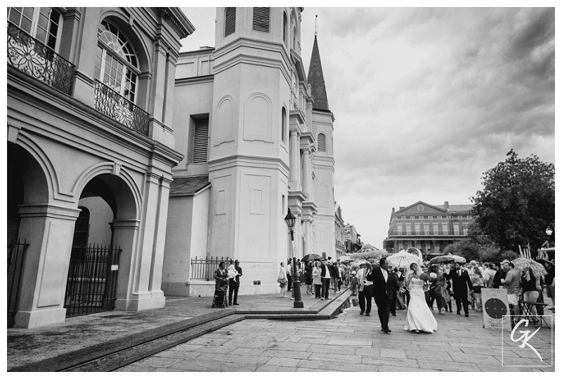 Ashaunta & Anton | Wedding |  St. Louis Cathedral
