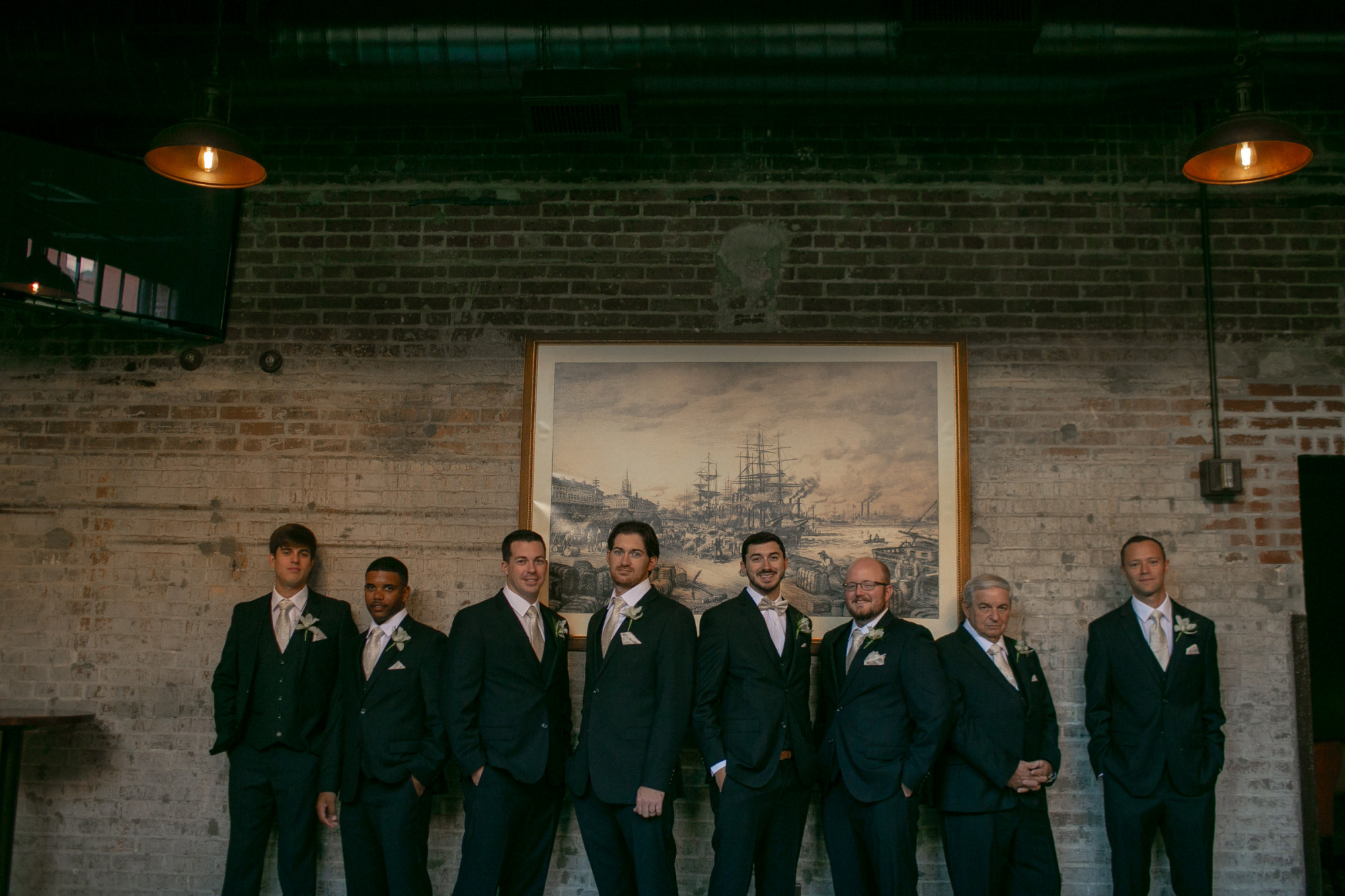 Tyler & Andre | Wedding | The Tea Room